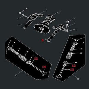 Klackalica ventila F03-02-0