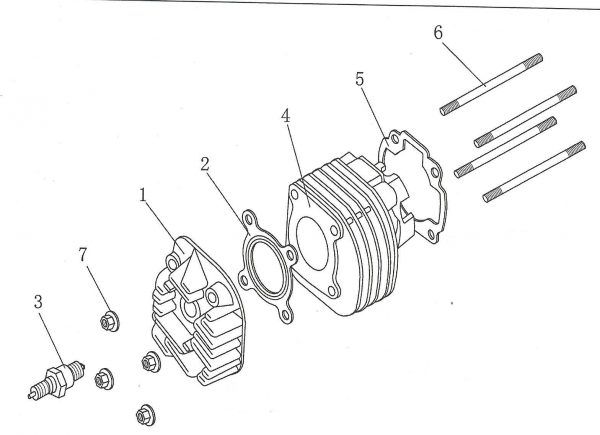 Dihtung glave cilindra 4E02-02-0