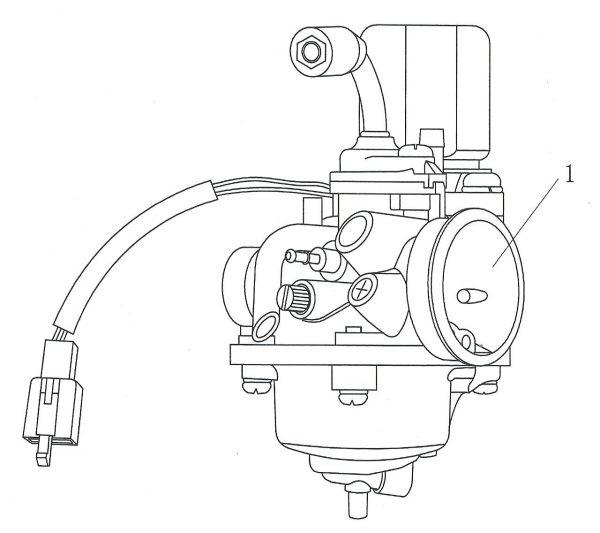 Karburator fergazer 4E03-01-0