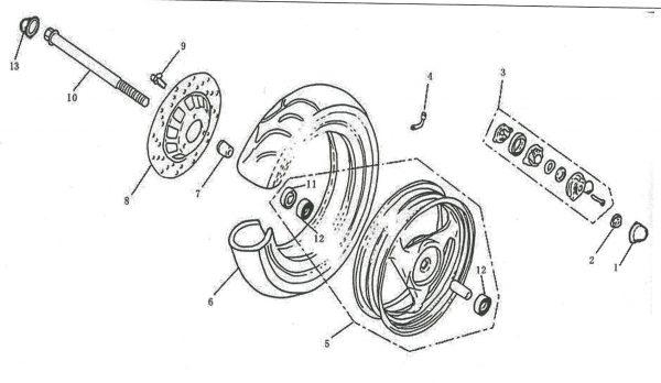 Konektor sajle 4F10-03-0