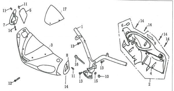 Prednja maska 4F05-03-0