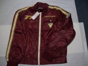 Moto jakna -777 bordo vel. M-0