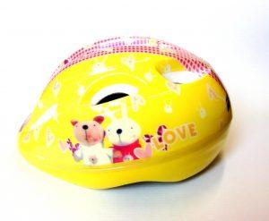Dječija kaciga BYE - žuta-0