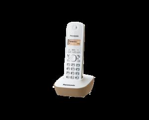 Bežični telefon Panasonic KX-TG1611 bijelo, bež-0