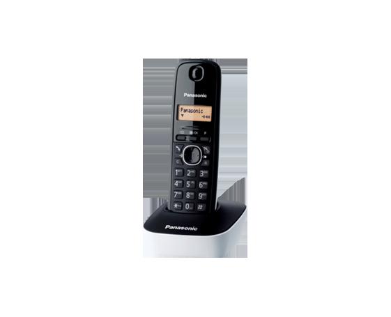Bežični telefon Panasonic KX-TG1611 crno bijeli-0