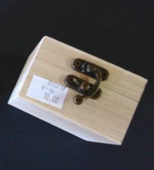 Drvena kutija mala - KOCKASTA-0