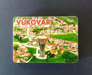 3D Magnet - slika pejzaža grada Vukovara-0