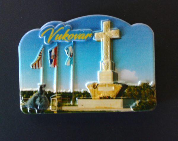 3D Magnet - slika Vukovarsko križa-0