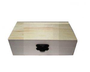 Drvena kutija mala - Kvadrat-0