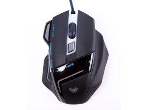 Miš AULA Ghost Shark Gaming, optički, žični, USB, crni-0
