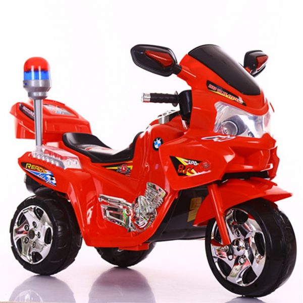 Dječji motorić na akumulator crveni-0