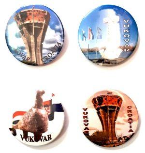 Bedževi okrugli sa Vukovarskim motivima-0