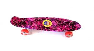Penny Board skate M15 svijetleći kotači - šareni-crveni-0