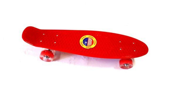 Penny Board skate M35 1S svijetleći kotači - crveni-0