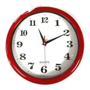 Zidni sat crveni-0