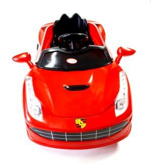 Dječji autić cabriolet Baby Land crveni-0