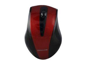 Miš MAXLINE GT-MS46, optički, žičani, USB, crveni-0