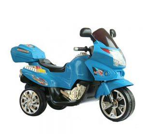 BMW STYLE Električni motocikl na bateriju PLAVI-0