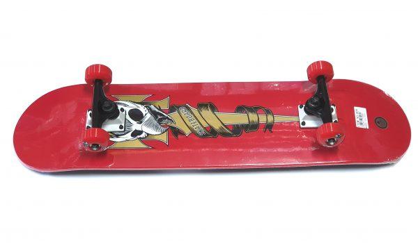 Skateboard Skull V281 crveni-0