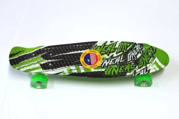 Penny Board skate M15 svijetleći kotači - šareni-zeleni-0