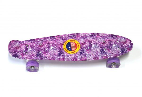Penny Board skate M15 svijetleći kotači - šareni-rozi-0