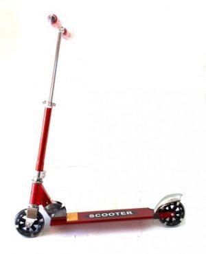 Romobil D2X V049 crveni (svijetleći kotači)-0