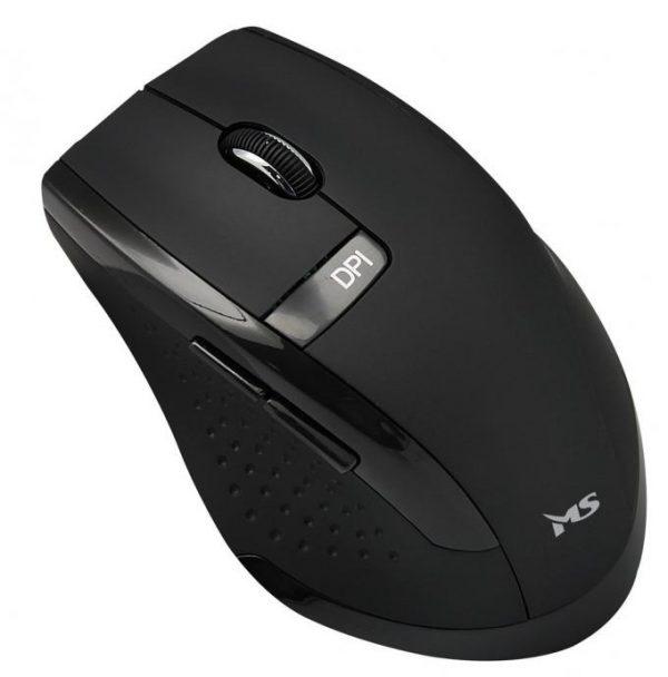 Bežični miš MS KING crni-0