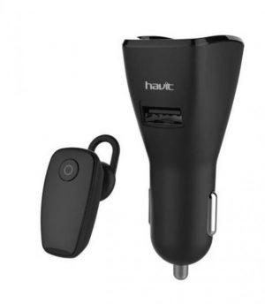 Bluetooth slušalica HAVIT HV-H965BT sa auto punjačem-0