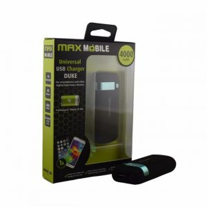 Prijenosna baterija MAXMOBILE Power Bank Clip, 4000mAh-0