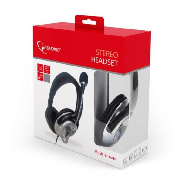Slušalice sa mikrofonom Gembird MHS-401-0