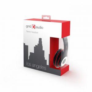 Slušalice sa mikrofonom Gembird MHS-LAX-B-0