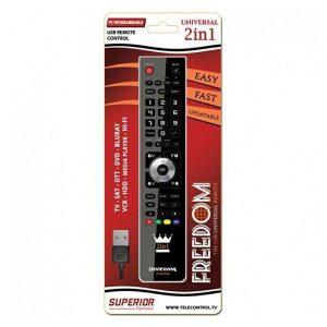 SUPERIOR univerzalni daljinski upravljač FREEDOM USB 2U1-0